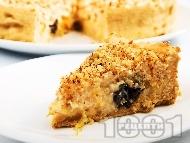 Рецепта Кремпита със сушени сини сливи